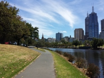 Melbourne and Yarra River