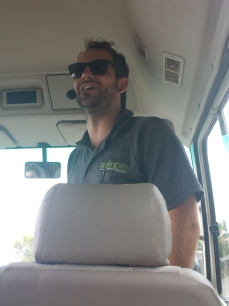 Sean, our bus driver and tour guide