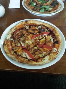 BBQ Chicken Pizza from Little Richards