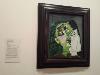Picasso (it was kinda like they had the rejects of all the big artists)