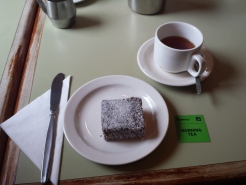 Tea! and Lamington