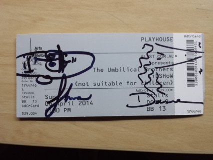 Signed Ticket!