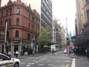 Walking through Sydney