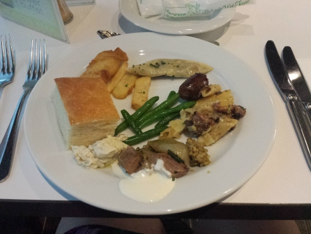 Plate one at the Sydney Tower