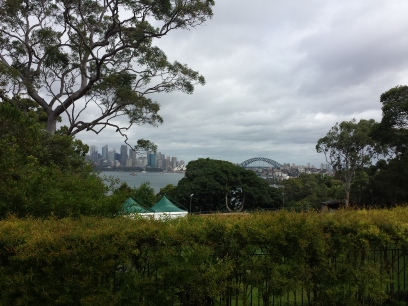 view from Taronga Zoo