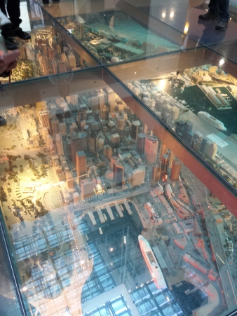 Scale model of Sydney