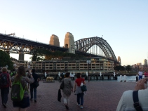 Harbor Bridge from The Rocks