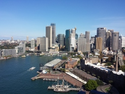 Circular Quay from Pylon Lookout