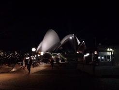 Opera House the night of the Ballet