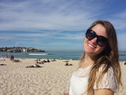 Steph at Bondi Beach