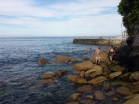 Bondi Beach (That rectangular piece of rock was an infinity saltwater pool)