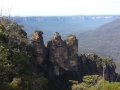 Three Sisters at Echo Point