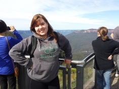 Me at the Blue Mountains
