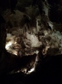 Jenolan Caves: The dark part is the old 'slide' they would use before they put in the stairs