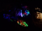 Jenolan Caves: Light show!