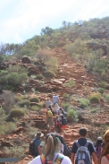 Kings Canyon: first part of Heart Attack Hill