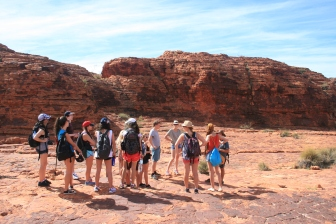 Kings Canyon: Our tour group